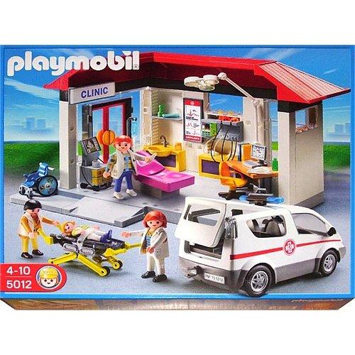 プレイモービル 5012 救急病院 Playmobil 5012 Emergency Clinic