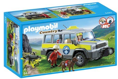 大好き プレイモービル Playset 5427 山岳救助チームの緊急車両 山岳救助チームの緊急車両 PLAYMOBIL Mountain Rescue Rescue Truck Playset, 7dials:484b55bc --- kventurepartners.sakura.ne.jp
