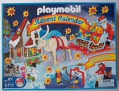 プレイモービル 5711 サンタクロースのクリスマス Playmobil Advent Calendar: Santa Claus Christmas