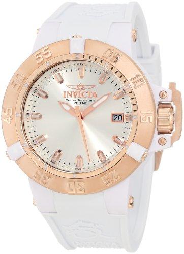 """インヴィクタ インビクタ 腕時計 レディース 時計 Invicta Women""""s 10131 Subaqua Noma III White Watch"""