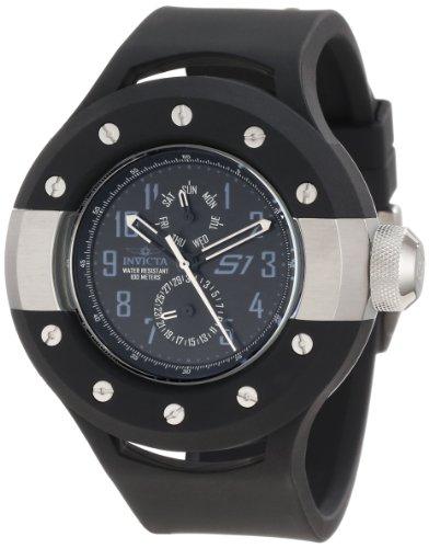 """インヴィクタ インビクタ 腕時計 メンズ 時計 Invicta Men""""s 10003 S1 Vintage Black Dial Watch"""