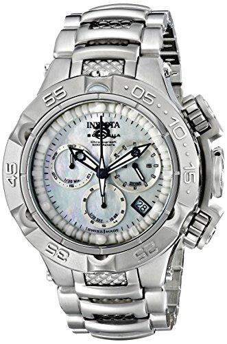 """インヴィクタ インビクタ 腕時計 レディース 時計 Invicta Women""""s 17219 Subaqua Analog Display Swiss Quartz Silver Watch"""
