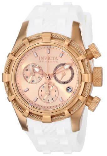 """インヴィクタ インビクタ 腕時計 レディース 時計 Invicta Women""""s 14779 Bolt Analog Display Swiss Quartz White Watch"""