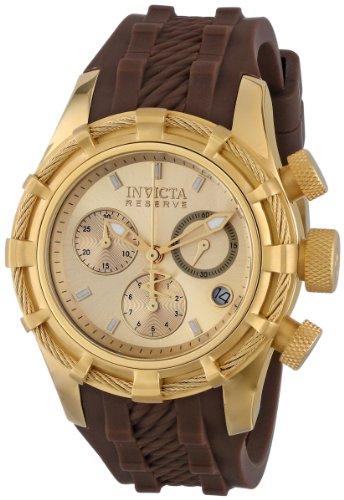 """インヴィクタ インビクタ 腕時計 レディース 時計 Invicta Women""""s 14782 Bolt Analog Display Swiss Quartz Brown Watch"""