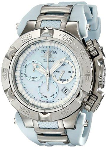 """インヴィクタ インビクタ 腕時計 レディース 時計 Invicta Women""""s 17233 Subaqua Analog Display Swiss Quartz Blue Watch"""
