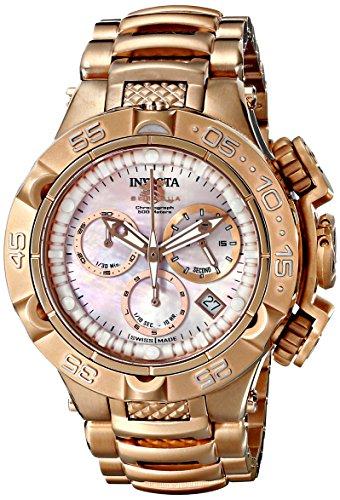 """インヴィクタ インビクタ 腕時計 レディース 時計 Invicta Women""""s 17225 Subaqua Analog Display Swiss Quartz Rose Gold Watch"""