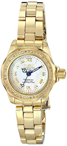 "インヴィクタ インビクタ 腕時計 レディース 時計 Invicta Women""s 15519 Wildflower Analog Display Swiss Quartz Gold Watch"