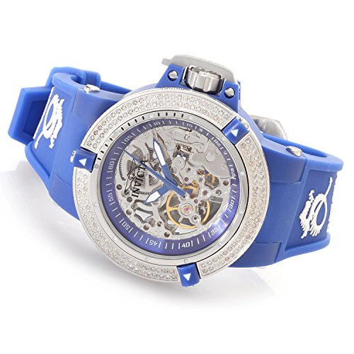 インヴィクタ インビクタ 腕時計 レディース 時計 Invicta Womens Subaqua Noma III Anatomic Diamond Accented Seagull Mechanical Blue Watch 16769