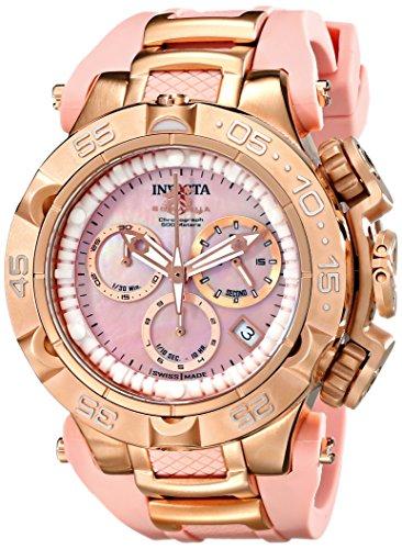 """インヴィクタ インビクタ 腕時計 レディース 時計 Invicta Women""""s 17241 Subaqua Analog Display Swiss Quartz Pink Watch"""