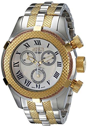 """インヴィクタ インビクタ 腕時計 レディース 時計 Invicta Women""""s 17430 Bolt Analog Display Swiss Quartz Two Tone Watch"""