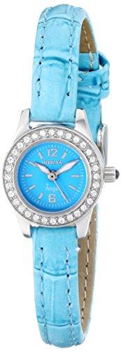 最新のデザイン インヴィクタ インビクタ 腕時計 レディース 時計 Invicta Women's 13654 Angel Blue Dial Crystal Accented Blue Leather Watch, ヤシママチ fd5334b2