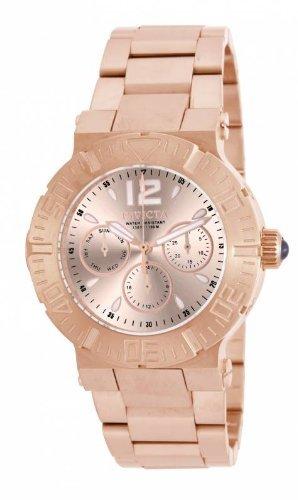 インヴィクタ インビクタ 腕時計 レディース 時計 Invicta Angel Multi-Function Rose Dial Rose Gold-plated Ladies Watch 14754