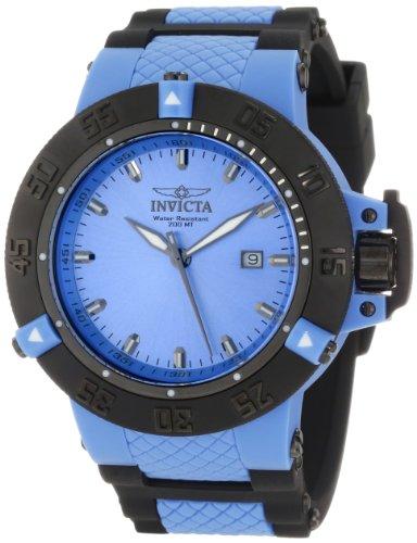 """インビクタ 時計 インヴィクタ メンズ 腕時計 Invicta Men""""s 10121 Subaqua Noma III Blue Sunray Dial Watch"""