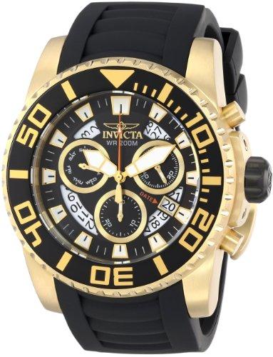 """インビクタ 時計 インヴィクタ メンズ 腕時計 Invicta Men""""s 14673 Pro Diver Analog Display Swiss Quartz Black Watch"""