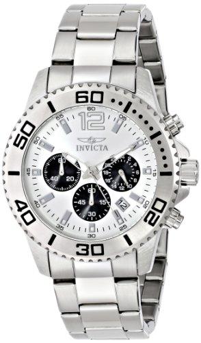 インビクタ 時計 インヴィクタ メンズ 腕時計 Invicta Men's 17395 Pro Diver Analog Display Japanese Quartz Silver Watch