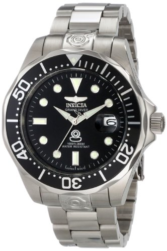"""インビクタ 時計 インヴィクタ メンズ 腕時計 Invicta Men""""s 3044 Stainless Steel Grand Diver Automatic Watch"""