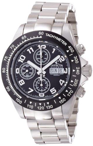 """インビクタ 時計 インヴィクタ メンズ 腕時計 Invicta Reserve Men""""s Speedway Swiss Automatic Valjoux 7750 Stainless Steel Bracelet Watch"""