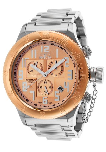 インビクタ 時計 インヴィクタ メンズ 腕時計 Invicta Men's 15557 Russian Diver Analog Display Swiss Quartz Silver Watch