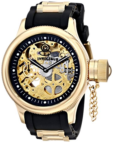"インビクタ 時計 インヴィクタ メンズ 腕時計 Invicta Men""s 17265 Russian Diver Analog Display Mechanical Hand Wind Black Watch"