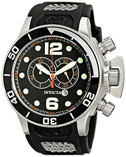 "インビクタ 時計 インヴィクタ メンズ 腕時計 Invicta Men""s 6915 Corduba Collection Interceptor Chronograph Black Polyurethane Watch"