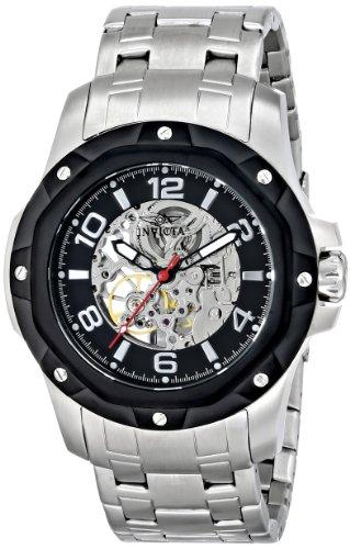 """インビクタ 時計 インヴィクタ メンズ 腕時計 Invicta Men""""s 16126 Specialty Analog Display Mechanical Hand Wind Silver Watch"""