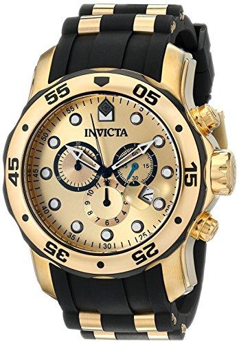 """インビクタ 時計 インヴィクタ メンズ 腕時計 Invicta Men""""s 17885 Pro Diver Analog Display Swiss Quartz Black Watch"""