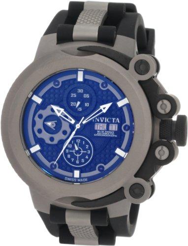 満点の インビクタ 時計 インヴィクタ メンズ 腕時計 Watch Invicta Men's 腕時計 0959 Rubber Force Automatic Chronograph Titanium Black Rubber Watch, アニメディアショップin:f652165b --- asthafoundationtrust.in