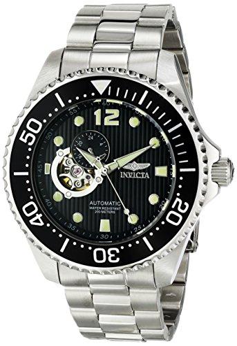 """インビクタ 時計 インヴィクタ メンズ 腕時計 Invicta Men""""s 15387 Pro Diver Analog Display Japanese Automatic Silver Watch"""