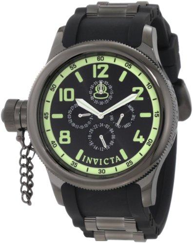 日本最大のブランド インビクタ 時計 インヴィクタ メンズ 腕時計 Invicta Men's 1805 Russian Diver Black Dial Sport Watch, 喜連川町 142a936b