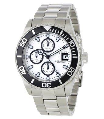 買得 インビクタ Men's 時計 インヴィクタ メンズ 腕時計 Invicta Men's White 1007 Pro インヴィクタ Diver White Chronograph Watch, ビューティーオンラインショップ:d9b0554f --- rishitms.com