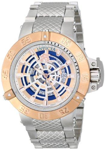 """インビクタ 時計 インヴィクタ メンズ 腕時計 Invicta Men""""s 16045 Subaqua Analog Display Swiss Quartz Silver Watch"""