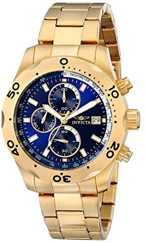 経典ブランド インビクタ 時計 インヴィクタ メンズ 腕時計 Invicta Men's 17751 Specialty Analog Display Japanese Quartz Gold Watch, ネックレスチェーン天然石 RUBBY 83b53bf0