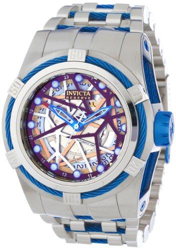 インビクタ 時計 インヴィクタ メンズ 腕時計 Invicta Men's 13762 Bolt Reserve Automatic Gold Tone Dial Stainless Steel Watch