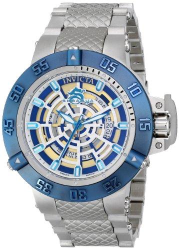 """インビクタ 時計 インヴィクタ メンズ 腕時計 Invicta Men""""s 16046 Subaqua Analog Display Swiss Quartz Silver Watch"""