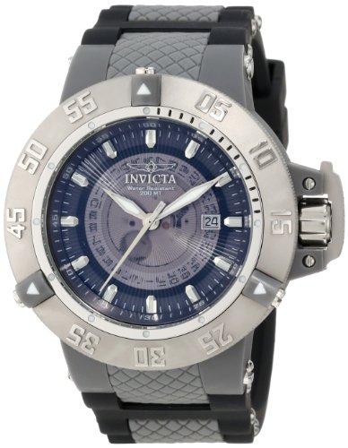"""インビクタ 時計 インヴィクタ メンズ 腕時計 Invicta Men""""s 10105 Subaqua Noma III Grey Dial Watch"""