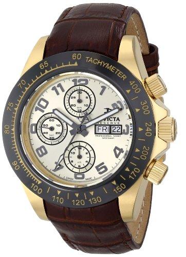 """インビクタ 時計 インヴィクタ メンズ 腕時計 Invicta Men""""s 10940 Speedway Analog Display Swiss Automatic Brown Watch"""