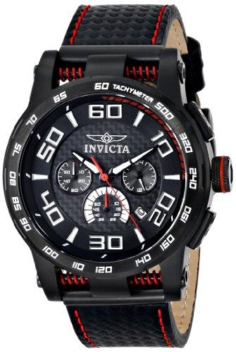 """インビクタ 時計 インヴィクタ メンズ 腕時計 Invicta Men""""s 15905 S1 Rally Analog Display Japanese Quartz Black Watch"""