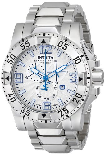 インビクタ 時計 インヴィクタ メンズ 腕時計 Invicta Men's 15300 Excursion Analog Display Swiss Quartz Silver Watch