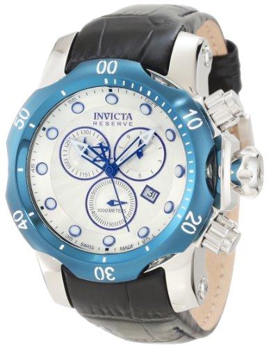 インビクタ 時計 インヴィクタ メンズ 腕時計 Invicta Men's 10823 Venon Reserve Chronograph Silver Tone Textured Dial Watch