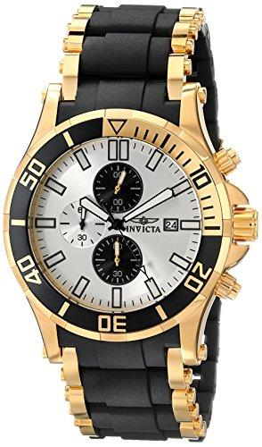 """インビクタ 時計 インヴィクタ メンズ 腕時計 Invicta Men""""s 80139 Sea Spider Analog Display Japanese Quartz Black Watch"""