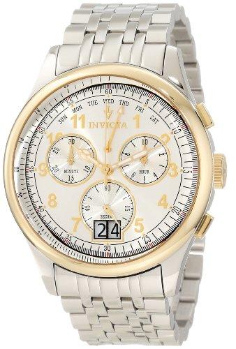 """インビクタ 時計 インヴィクタ メンズ 腕時計 Invicta Men""""s 10749 Vintage Chronograph Silver Dial Watch"""