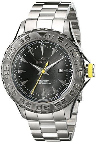 "インビクタ 時計 インヴィクタ メンズ 腕時計 Invicta Men""s 17557 Pro Diver Analog Display Japanese Quartz Silver Watch"