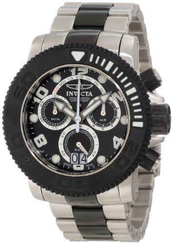 インビクタ 時計 インヴィクタ メンズ 腕時計 Invicta Men's 11161 Sea Hunter Pro Diver Chronograph Black Dial Watch