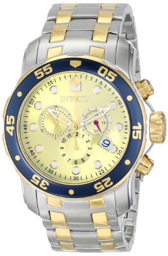 "インビクタ 時計 インヴィクタ メンズ 腕時計 Invicta Men""s 80080 Pro Diver Analog Display Swiss Quartz Two Tone Watch"