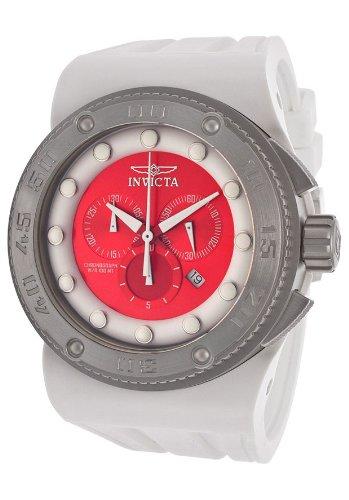 """インビクタ 時計 インヴィクタ メンズ 腕時計 Invicta Men""""s 12334 Akula Analog Swiss-Quartz White Watch"""
