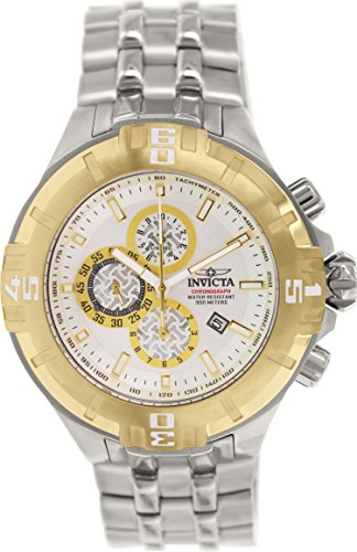 "インビクタ 時計 インヴィクタ メンズ 腕時計 Invicta Men""s 12360 Pro Diver Chronograph Silver Dial Stainless Steel Watch"
