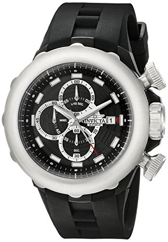 """インビクタ 時計 インヴィクタ メンズ 腕時計 Invicta Men""""s 16908 I-Force Analog Display Japanese Quartz Black Watch"""