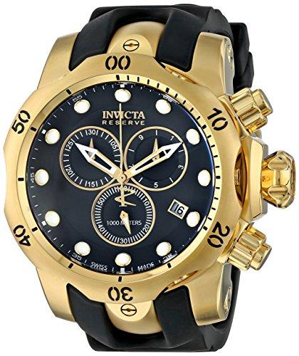 インビクタ 時計 インヴィクタ メンズ 腕時計 Invicta Men's 6112 Reserve Collection Subaqua Venom 18k Gold Plated Chronograph WatchDYE92WHI