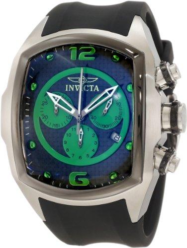 """インビクタ 時計 インヴィクタ メンズ 腕時計 Invicta Men""""s 10062 Lupah Revolution Chronograph Black Carbon Fiber Dial Watch"""