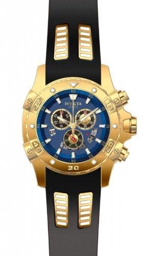 """インビクタ 時計 インヴィクタ メンズ 腕時計 Invicta Men""""s 15856 Specialty Analog Display Swiss Quartz Black Watch"""